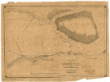 Chart of the obstructions in the Cape Fear and Brunswick Rivers and the batteries commanding them