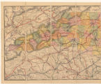Railroad Map of North Carolina