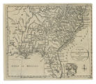 An Exact Map of North and South Carolina & Georgia, with East and West Florida from the latest...