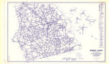 Robeson County, North Carolina (Highway culture map).