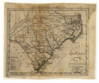 Map of North and South Carolina. By J. Denison. Doolittle Sculp.