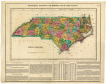 Geographical, Statistical, and Historical Map of North Carolina