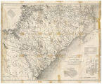 A map of North & South Carolina: accurately copied from the old maps of James Cook published...