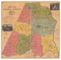 Map of Stanly County, NC (Calvin M. Miller)