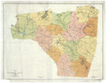 Map of Rutherford County, North Carolina (R. E. Carpenter)