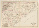 Asher & Adams' North Carolina and South Carolina