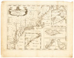 A new map of the most considerable plantations of the English in America: dedicated to his...