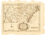 A new map of North & South Carolina, & Georgia: drawn from the best authorities