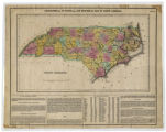 Geographical, Statistical, and Historical Map of North Carolina. Drawn by F. Lucas Jr. Kneass sc.