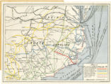 Map of Atlantic and East Carolina Railway