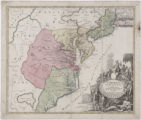 Virginia, Marylandia et Carolina: in America septentrionali Brittannorum industria excultae
