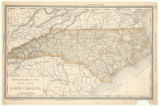 Rand, McNally & Co.'s New map of North Carolina