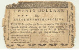 Twenty-dollar bill of credit, 1779