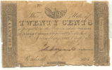 Twenty-cent treasury note, 1817