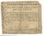 Two-shilling-and-six-pence debenture bill, 1768