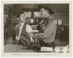 Image Folder 0104: Roy Acuff and Guinn Big Boy Williams: Movie still from Smoky Mountain Melody,...