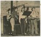 Image Folder 0108_01: Roy Acuff and His Smoky Mountain Boys: Performing in studio, undated: Scan 1