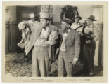 Image Folder 0100: Smiley Burnette and Charles Starrett: Movie still from Across the Badlands,...
